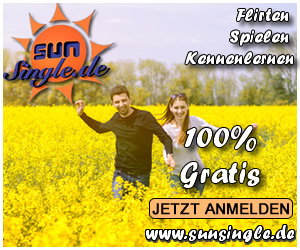 www.SunSingle.de - Flirten - Spielen - Kennenlernen